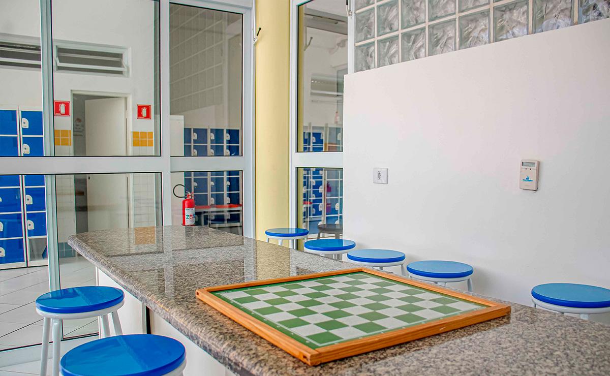 Espaço para Aulas de Xadrez